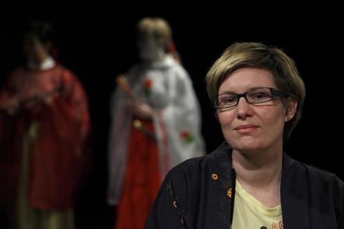 Our light designer Åsa Holtz