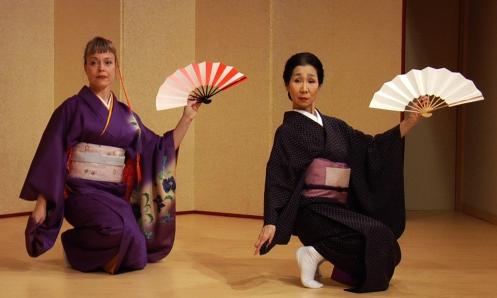 Ami med Senrei sensei i Kyoto