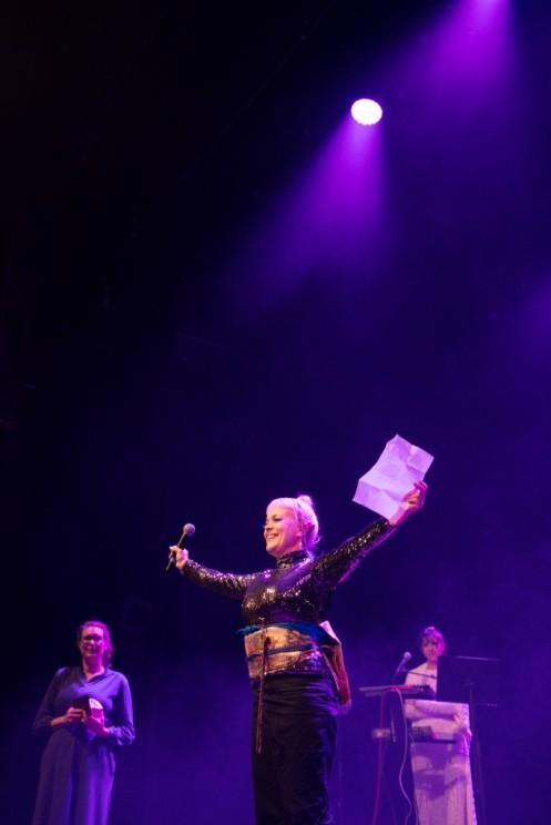 Ami Skånberg Dahlstedt vinner pris på Scenkonstgalan 2015